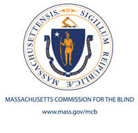 Mass Commission for the Blind Logo