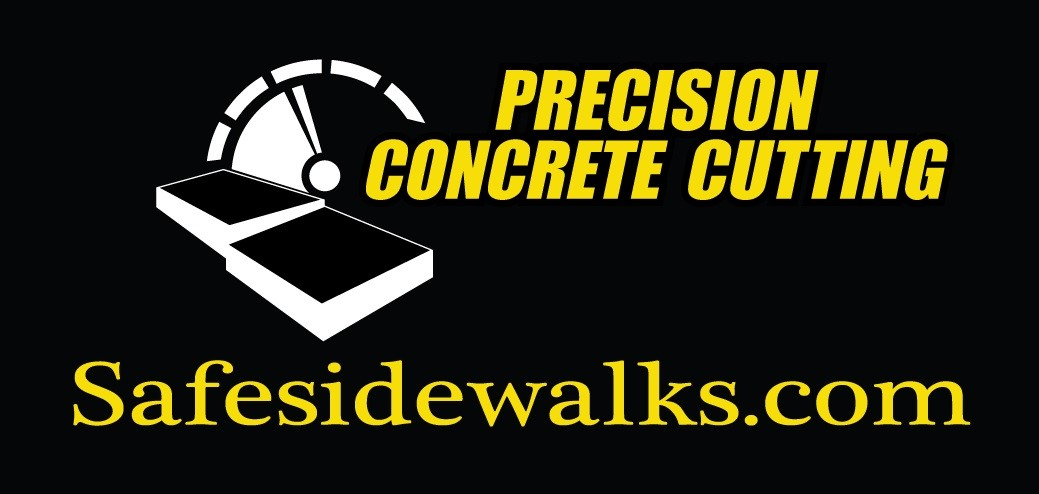 Precision Concrete Cutting safe sidewalks logo