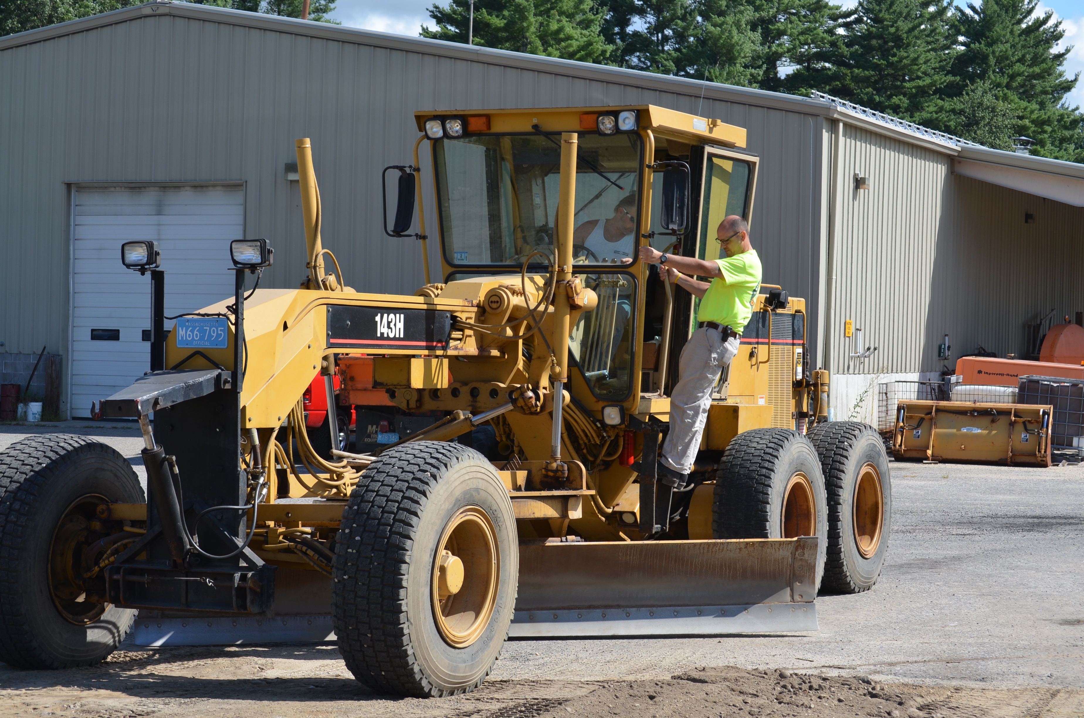 Image of grader driver training