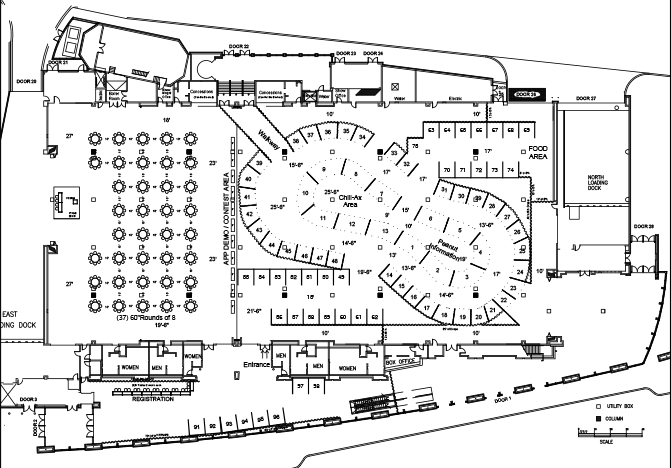 map of first floor